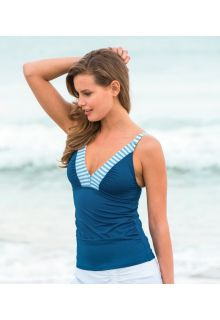 Cabana-Life---UV-Tankini-Top-voor-dames---Donkerblauw