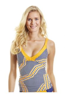 Cabana-Life---Tankini-top---Orange-Drive