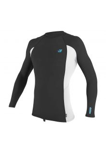 O'Neill---UV-shirt-voor-heren---Longsleeve---Premium-Rash---Donkergrijs