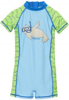 Playshoes---UV-pakje-voor-meisjes-en-jongens---blauw-groen-zeehond