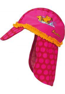 Playshoes---UV-zonnepetje-voor-kinderen---Roze-muis