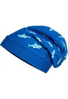 Playshoes---UV-beanie-voor-jongens---Haai---Blauw
