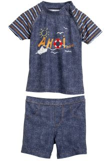Playshoes---UV-tweedelige-set-zwemkleding---Jeans-look