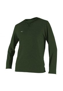 O'Neill---UV-shirt-voor-heren---Longsleeve---Hybrid-Sun---Olijfgroen