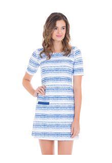 Cabana-Life---UV-jurk-voor-dames---Blauw/Wit