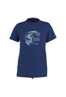 O'Neill---UV-shirt-voor-jongens-en-meisjes-met-korte-mouwen---navy-