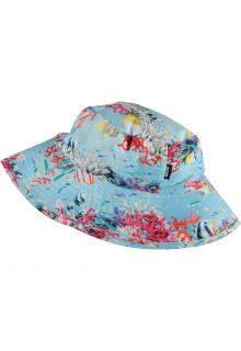 Molo---UV-Zonnehoed-voor-meisjes---Nadia---Coral-Stripe---Multi