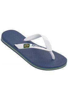Ipanema---slippers-voor-jongens--Classic-Brasil---blauw-en-wit