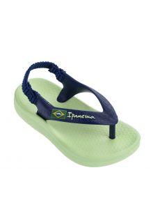 Ipanema---sandalen-voor-jongens-baby's---Anatomic-Soft-Baby---groen
