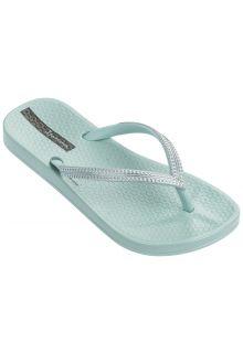Ipanema---slippers-voor-meisjes---Mesh-Kids---groen/zilver