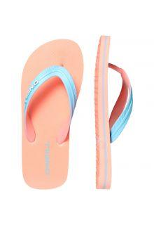 O'Neill---Slippers-voor-jongens---Sol---Neon-Tangerine-Pink-oranje