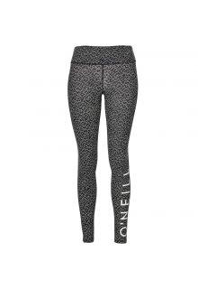 O'Neill---UV-legging-voor-dames---Black-AOP-/-White-zwart-wit
