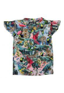 Molo---UV-zwemshirt-met-korte-mouwen-kinderen---Neona---Wild-Amazon