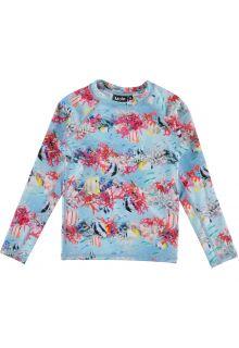 Molo---UV-zwemshirt-voor-meisjes---Longsleeve---Neptune---Coral