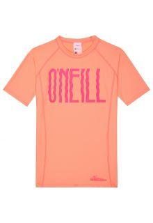 O'Neill---UV-shirt-met-korte-mouwen-voor-meisjes---oranje/roze