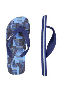 O'Neill---Slippers-voor-jongens---blauw