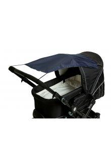 Altabebe---Universele-UV-zonnescherm-voor-kinderwagens---Marineblauw