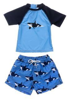 Snapper-Rock---UV-zwemset-voor-baby-jongens---Korte-mouw---Orka-Ocean---Blauw