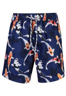 Snapper-Rock---UV-Boardshorts-voor-jongens---Don't-be-Koy---Navyblauw