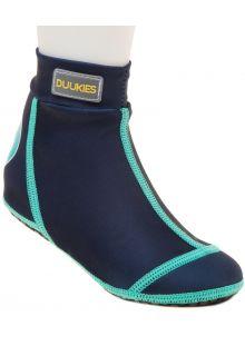 Duukies---Jongens-UV-strandsokken---Blue/Green---Donkerblauw