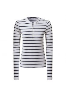 Craghoppers---UV-Zwemshirt-voor-dames---Longsleeve---Cordelia-Rash-Vest---Navy/Wit