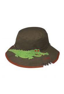 Emthunzini-Hats---UV-Bucket-hoed-voor-jongens---Croc-Bite---Groen