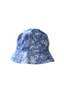 Emthunzini-Hats---UV-Bucket-hoed-voor-baby's---Sandy-Denim---Blauw