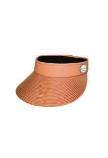Emthunzini-Hats---Zonneklep-voor-dames---Evoke-Morgan-Peak---Oranje