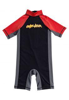 Quicksilver---UV-zwempak-voor-jongens---Spring-Joy---Zwart/Rood