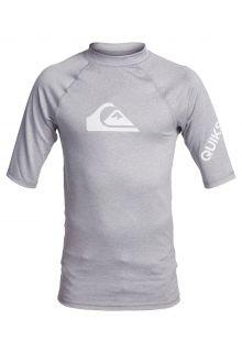 Quicksilver---UV-zwemshirt-voor-tieners---All-Time---Lichtgrijs