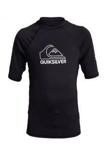 Quicksilver---UV-zwemshirt-voor-tieners---On-Tour---Zwart