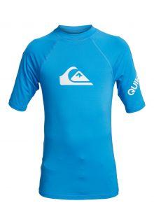 Quicksilver---UV-zwemshirt-voor-tieners---All-Time---Helderblauw
