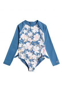 Roxy---UV-Badpak-voor-jonge-meisjes---Longsleeve---Swim-Lovers---Blue-Moonlight