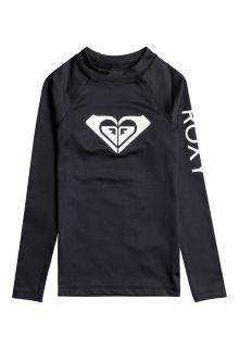 Roxy---UV-Zwemshirt-voor-tienermeisjes---Longsleeve---Whole-Hearted---Antraciet
