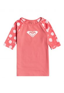 Roxy---UV-Zwemshirt-voor-jonge-meisjes---Shella---Desert-Rose