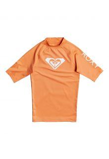 Roxy---UV-Zwemshirt-voor-tienermeisjes---Whole-Hearted---Zalm