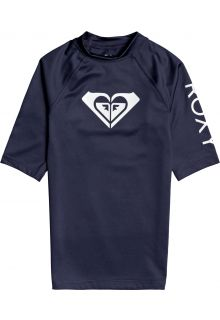 Roxy---UV-Zwemshirt-voor-tienermeisjes---Whole-Hearted---Mood-Indigo