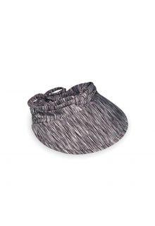 Emthunzini-Hats---Zonneklep-voor-dames---Calypso-Peak---Zwart/Wit