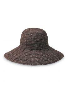 Emthunzini-Hats---UV-Floppy-zonnehoed-voor-dames---Scrunchie---Bruin