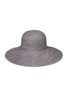 Emthunzini-Hats---UV-Floppy-zonnehoed-voor-dames---Scrunchie---Grijs