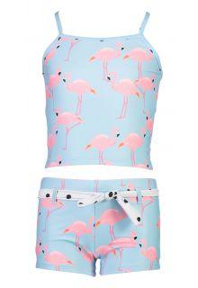 Snapper-Rock---Tankini-voor-meisjes---Flamingo-Social---Lichtblauw