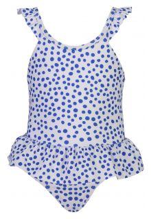 Snapper-Rock---Badpak-met-rokje-voor-baby's---Cheetah-Spot---Wit/Blauw
