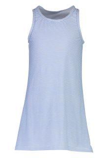 Snapper-Rock---UV-Zwemjurk-voor-meisjes---Striped---Blauw/Wit