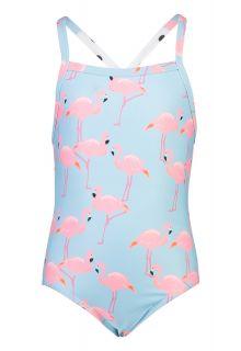 Snapper-Rock---Badpak-X-Back-voor-meisjes---Flamingo-Social---Lichtblauw