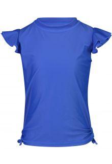 Snapper-Rock---UV-Zwemshirt-voor-meisjes---Fladdermouwen---Blauw-