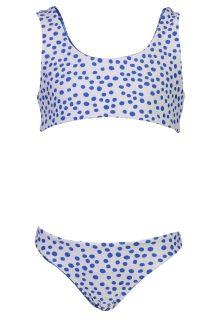 Snapper-Rock---Omkeerbare-Bow-Bikini-voor-meisjes---Cheetah-Spot---Blauw/Wit
