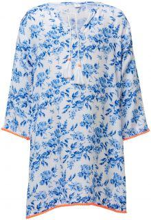 Snapper-Rock---Tuniek-voor-meisjes---Cottage-Floral---Wit/Blauw