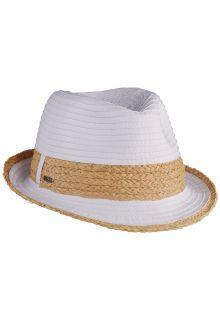 Scala---verstelbaar-Fedora-hoed-voor-dames---Wit