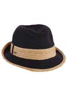 Scala---verstelbaar-Fedora-hoed-voor-dames---Zwart