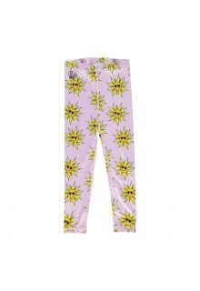 Beach-&-Bandits---UV-zwemlegging-voor-meisjes---Sunny-Flower---Roze